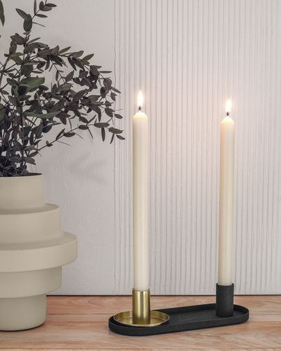 Nair set of two candle holders