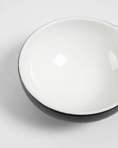 Bol Sadashi petit de porcellana blanc i negre