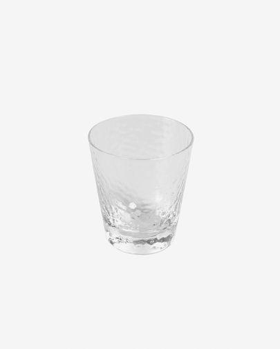 Small Dinna transparent and grey glass