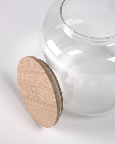 Pot gran Cirene vidre transparent