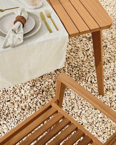 Hanzel tuinstoel in massief acaciahout FSC 100%