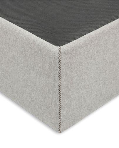 Canapé abatible Matters gris 160 x 200 cm