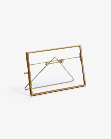 Portafoto Eleanor dorato 10 x 15cm