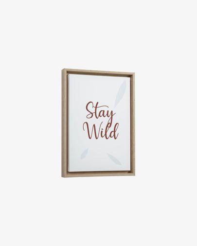 Uriana Stay Wild picture 30 x 42 cm