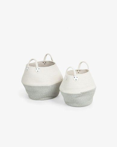 Set of 2 baskets Katja