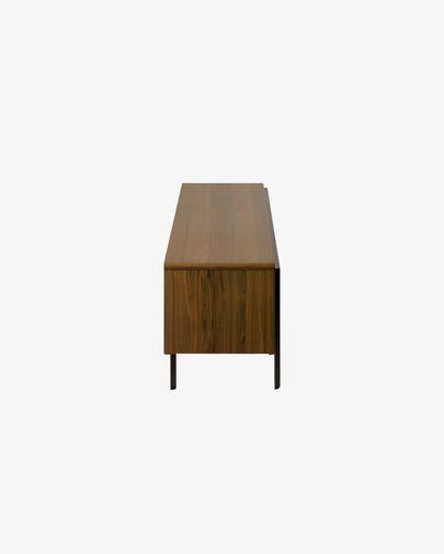 Tv-meubel Nadyria 180 x 50 cm van noten-hout