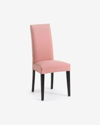 Freda chair pink and black
