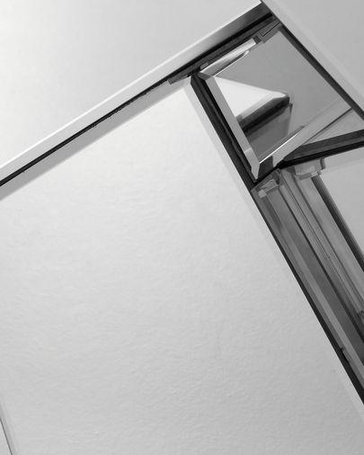 Consola Louis 115,5 x 81 cm de cristal biselado