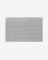 Miekki bath mat light grey