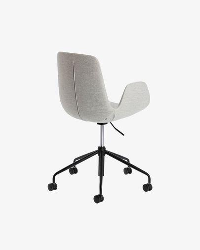 Chaise de bureau Yolanda gris clair