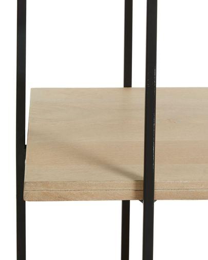 Estante Palmia 100 x 191 cm madeira maciça de mangueira