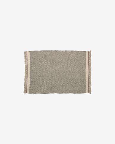 Nam grijs kleed  60 x 90 cm