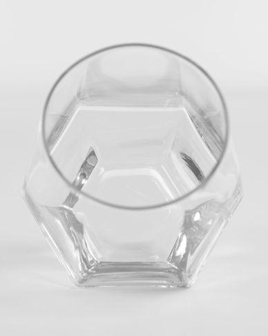 Copo Lukina em vidro transparente