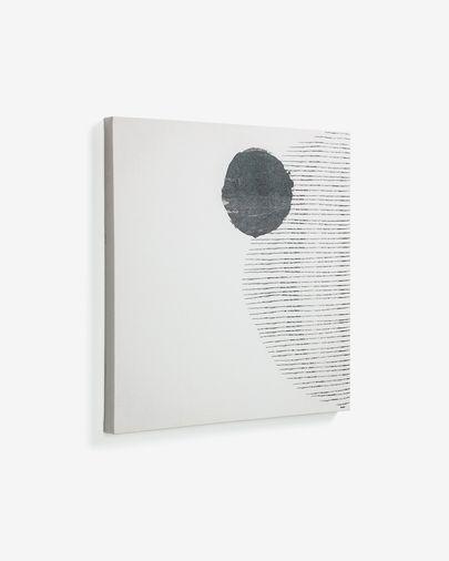 Quadro grande Prism 50 x 50 cm sfondo bianco