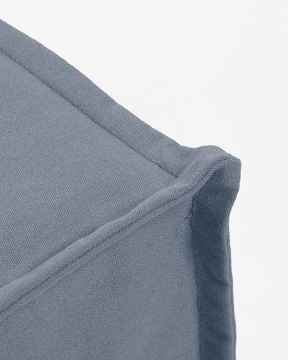Poef Lizzie 70 x 60 (180) cm blauw