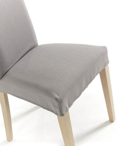 Freda chair cover light grey
