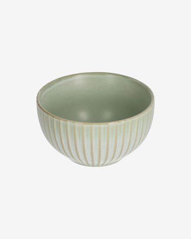 Bol Itziar de cerámica verde