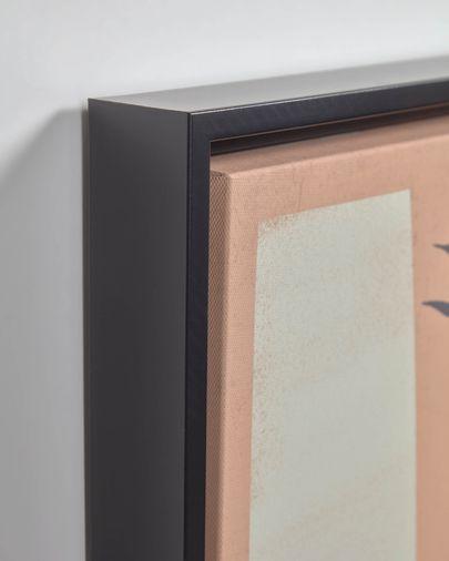 Bianey zalmkleur afbeelding 50 x 30 cm