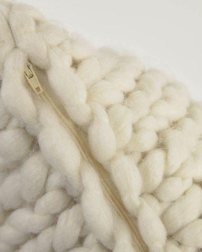 Adonia 100% natural wool cushion cover 45 x 45 cm