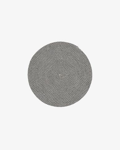 Tapijt Rodhe Ø 100 cm grijs