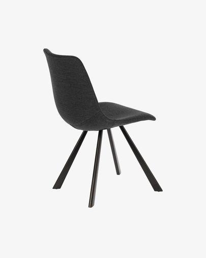 Cadeira Alve cinza escuro