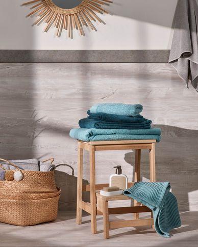 Miekki hand towel light turquoise