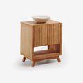 Meubles de salle de bains en bois