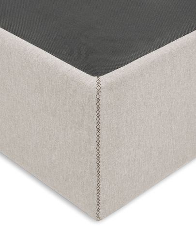 Storage bed base Matters 140 x 190 cm beige