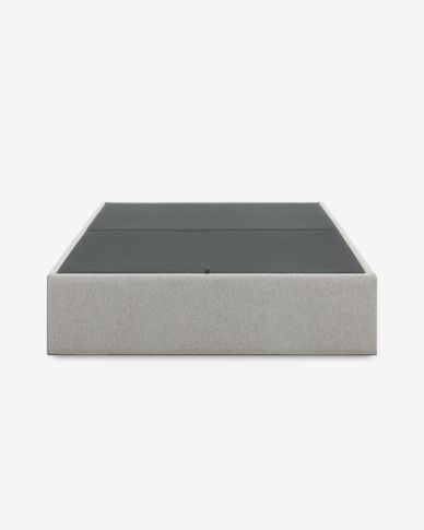 Storage bed base Matters 140 x 190 cm grey