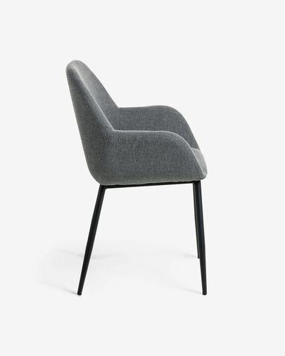 Cadira Konna gris fosc