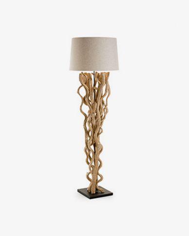 Nuba staande lamp wit