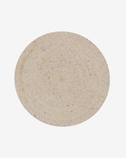 Tappeto Takashi Ø 150 cm grigio