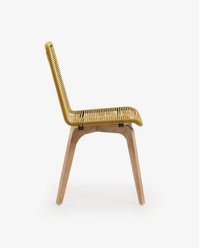 Narava Stuhl, senfgelb