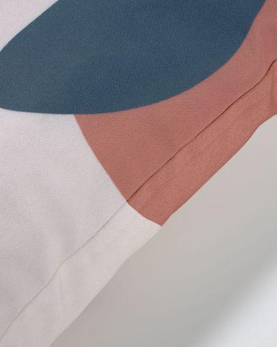 Abish kussenhoes geometrische vormen beige 45 x 45 cm