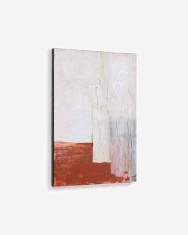 Schilderij Yulissa veelkleurig canvas 50 x 70 cm