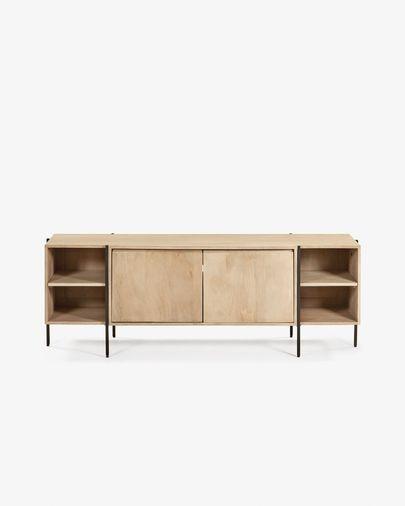 Mueble TV Palmia 160 x 56 cm de madera maciza de mango