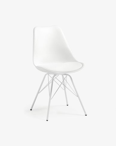 Sedia Ralf bianco