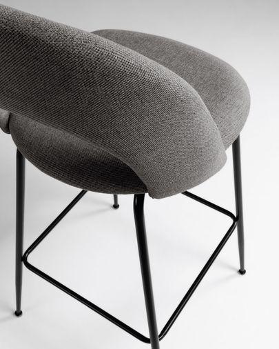 Mahalia dark grey stool height 63 cm