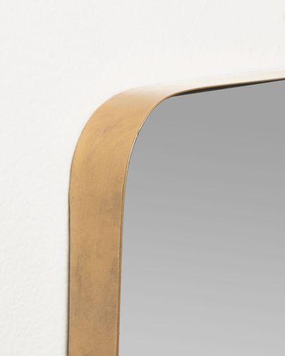 Espejo de pared Marco metal dorado 55 x 150,5 cm