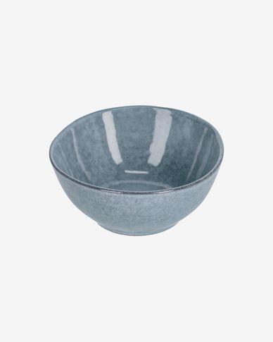 Miska Airena ceramiczna niebieska