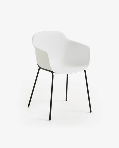 Chaise Khasumi blanc