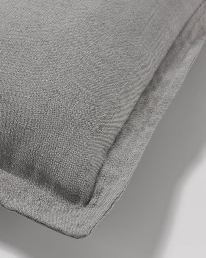 Grey Maelina cushion cover 60 x 60 cm