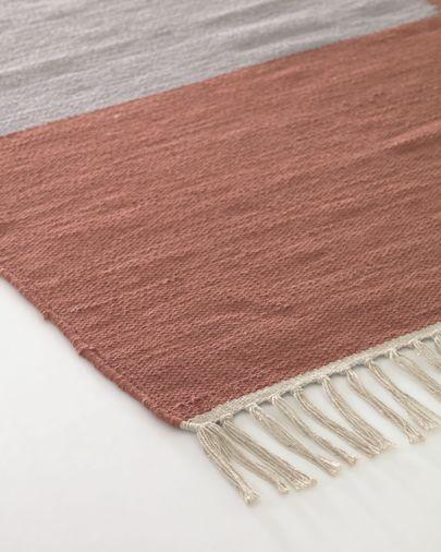 Alfombra Cataleya 100 % algodón multicolor 160 x 230 cm