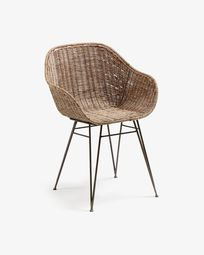 Chart Stuhl aus Rattan