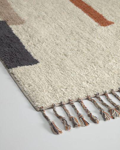 Alfombra Bahiia algodón 140 x 200 cm