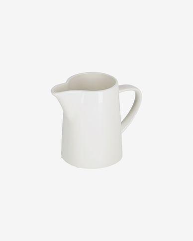 Bricco per latte Pierina in porcellana bianca