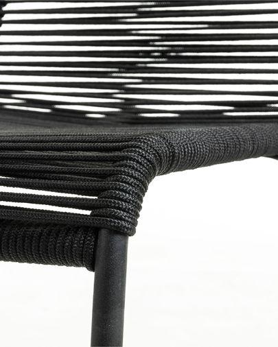 Black Lambton chair