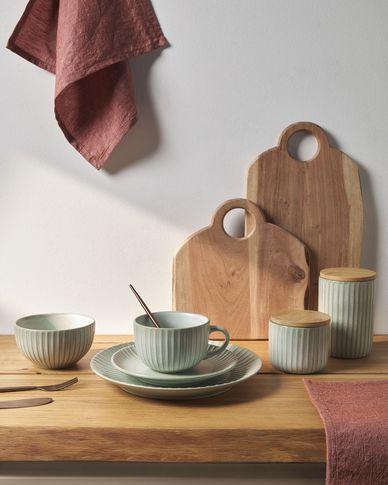 Miska Itziar zielona  ceramiczna