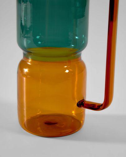 Multi-coloured Fiorina jug