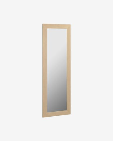 Yvaine mirror natural finish 52,5 x 152 cm